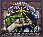 Hand of Christ / The Palm of Peace.