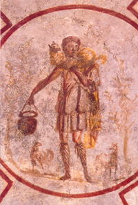 Catacomb of Callixtus - The Good Shepherd.