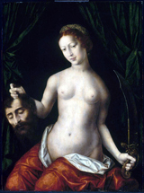 Judith with the Head of Holofernes.