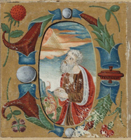 Cutting from a Manuscript.