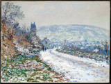 Entrance to the Village of Veteheuil in Winter.