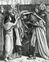 Melchizedek Blesses Abraham.