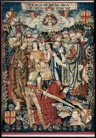 Tapestry - The Martyrdom of Saint Paul.