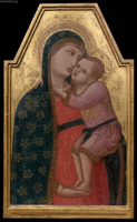 Virgin and Child.