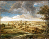 Landscape with an Avenue of Trees.