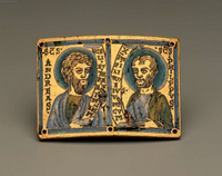 Plaque with Busts of Andrew and Philip.