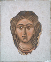 Head of Female Saint.
