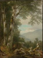 Landscape with Birches.