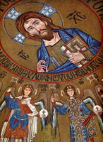 Pantocrator Surrounded by Archangels.