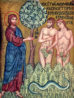 Creation - God Calls Adam and Eve to Account for their Sin.