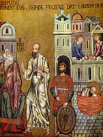Peter and Paul meet in Jerusalem.