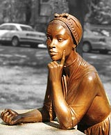 Statue of Phillis Wheatley, The Boston Women's Memorial.