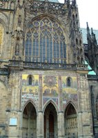 Facade mosaic, St. Vitus Cathedral.
