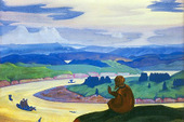Procopius the Righteous Praying.