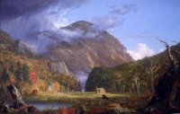 A View of the Mountain Pass Called the Notch of the White Mountans (Crawford Notch).