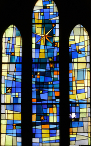 Heavenly window.