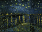 Starry Night.  Gogh, Vincent van, 1853-1890  Click to enter image viewer  Use the Save buttons below to save any of the available image sizes to your computer.