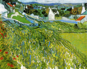 Vineyards with a View of Auvers.