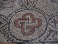 Basilica of Aquileia - floor mosaic.