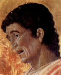 John, the Evangelist, detail of altarpiece.