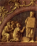 Moses Giving the Law.