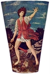David with head of Goliath.