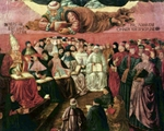 Triumph of Thomas Aquinas over Averroes, detail.