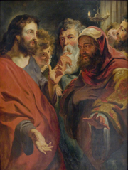 Christ Instructing Nicodemus.