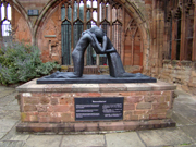 Coventry Cathedral - Reconciliation.  Vasconcellos, Josefina de, 1904-2005  Click to enter image viewer  Use the Save buttons below to save any of the available image sizes to your computer.