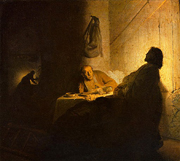 Supper at Emmaus.