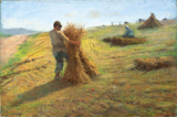 Grain Harvest.  Rossano, Federico, 1835-1912  Click to enter image viewer  Use the Save buttons below to save any of the available image sizes to your computer.