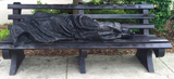 Homeless Jesus.  Schmalz, Timothy P.  Click to enter image viewer  Use the Save buttons below to save any of the available image sizes to your computer.