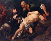 Sacrifice of Isaac.  Orrente, Pedro de  Click to enter image viewer  Use the Save buttons below to save any of the available image sizes to your computer.