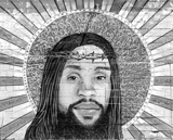 Jesus the Holy Mural.