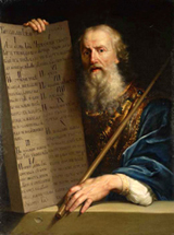 Ten Commandments of Moses.  Losenko, Anton Pavlovich, 1737-1773  Click to enter image viewer  Use the Save buttons below to save any of the available image sizes to your computer.