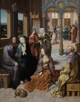 Christ in the House of Mary and Martha.