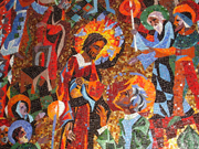 Christ shows himself to Thomas.