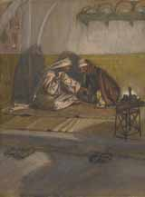 Christ and Nicodemus.