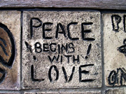Peace begins with love!.