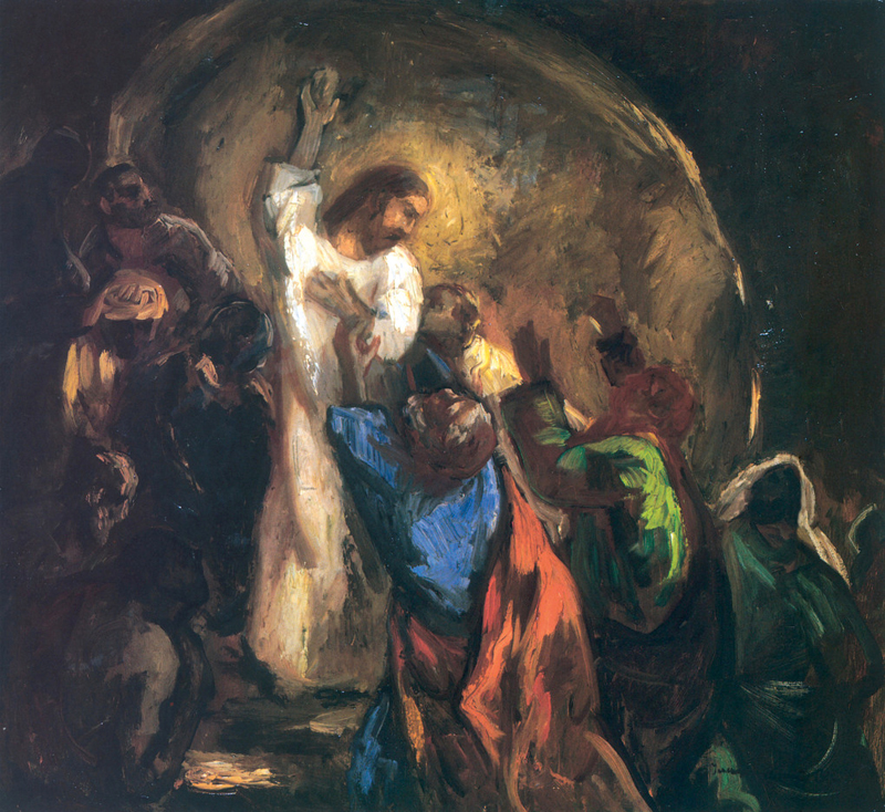Title: Thomas Touches Christ's Side [Click for larger image view]