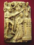 Martyrdom of Thomas Becket on English Ivory.   Click to enter image viewer  Use the Save buttons below to save any of the available image sizes to your computer.