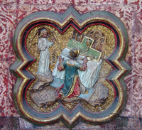 Annunciation of the Birth of John the Baptist to Zacharias.   Click to enter image viewer  Use the Save buttons below to save any of the available image sizes to your computer.