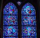 Life of Christ in stained glass.   Click to enter image viewer  Use the Save buttons below to save any of the available image sizes to your computer.