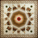 Star of Bethlehem Quilt.   Click to enter image viewer  Use the Save buttons below to save any of the available image sizes to your computer.