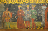 Herod with the Three Kings.   Click to enter image viewer  Use the Save buttons below to save any of the available image sizes to your computer.