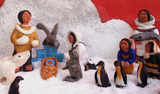 Inuit Nativity.   Click to enter image viewer  Use the Save buttons below to save any of the available image sizes to your computer.