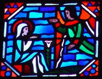 Annunciation.  Le Breton, Jacques ; Gaudin, Jean  Click to enter image viewer  Use the Save buttons below to save any of the available image sizes to your computer.