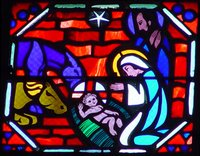 Nativity.  Le Breton, Jacques ; Gaudin, Jean  Click to enter image viewer  Use the Save buttons below to save any of the available image sizes to your computer.