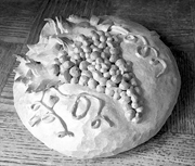 Bread for First Communion.   Click to enter image viewer  Use the Save buttons below to save any of the available image sizes to your computer.