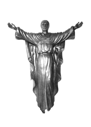 Ugandan Risen Christ.   Click to enter image viewer  Use the Save buttons below to save any of the available image sizes to your computer.